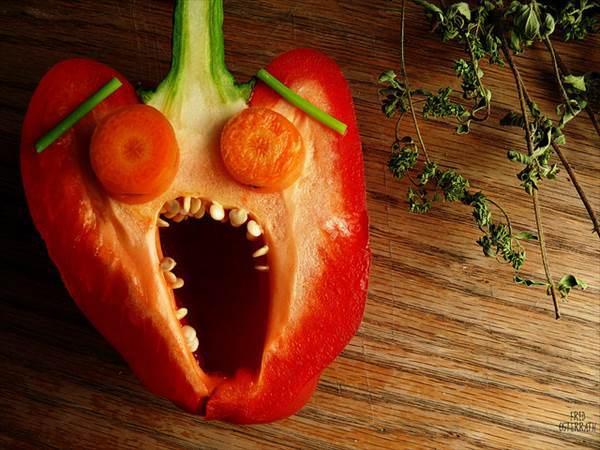 Red Sweet Bell Pepper
