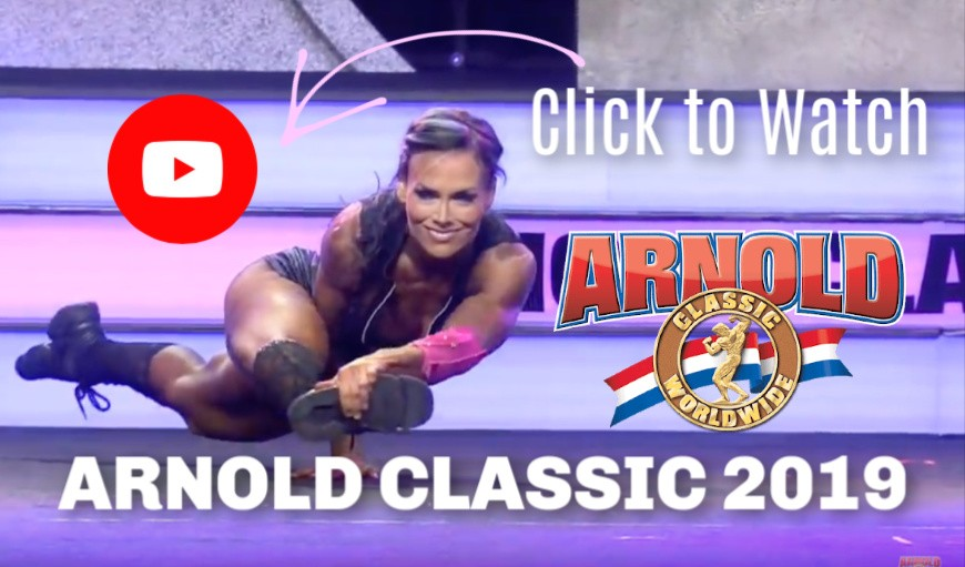 Photo of Allison Ethier Fitness Routine on YouTube Arnold Classic